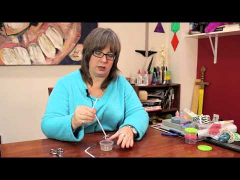 How to Cut a Straw for Blowing Bubbles : Custom Crafts