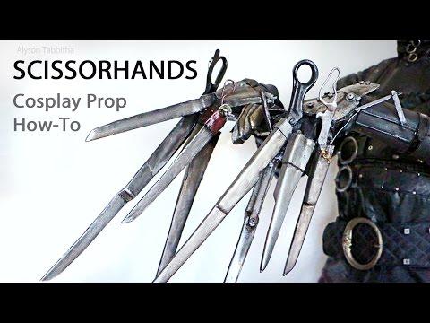 Edward's Scissorhands Prop - Cosplay Tutorial