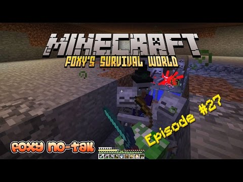 Minecraft Survival - How to build a Mob Grinder [27]