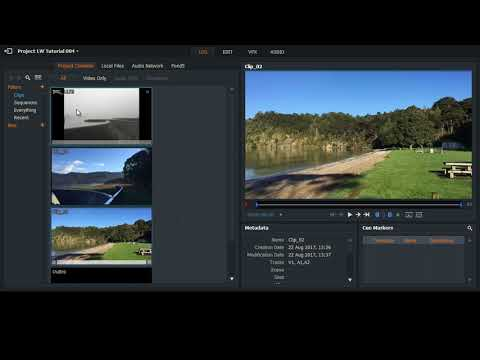 Lightworks 14 - Inserting Still Pictures into the Video Timeline