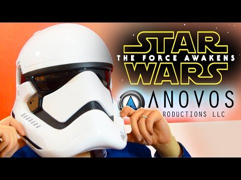 ANOVOS® STAR WARS™: THE FORCE AWAKENS: First Order Stormtrooper Helmet | UNBOXING & REVIEW