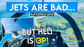 DICE Ruined Air Combat in Battlefield 2042...
