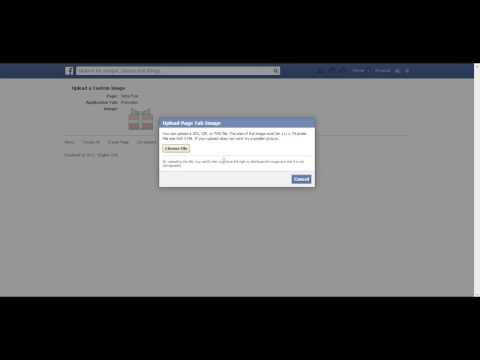 How to change a tab image on a Facebook fanpage
