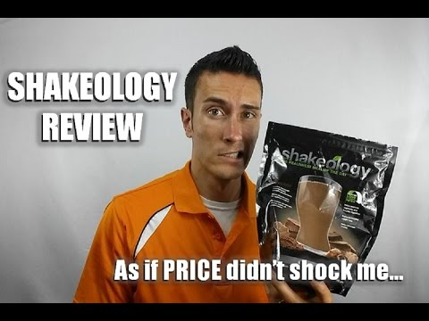 Shakeology Review - As if the PRICE Didn't Shock Me at First!