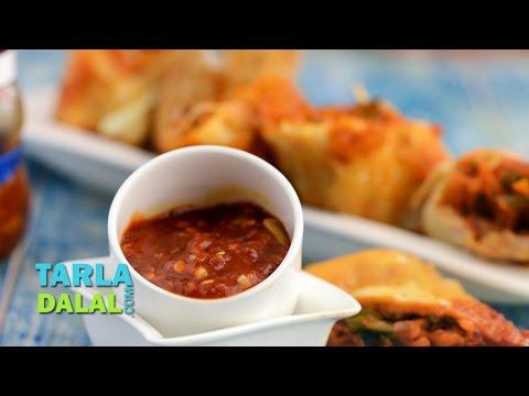 Schezwan Sauce, Schezuan Sauce Chinese Recipe by Tarla Dalal