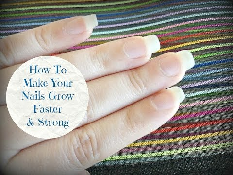 How To Make Your Nails Grow Faster & Strong At Home - DIY!