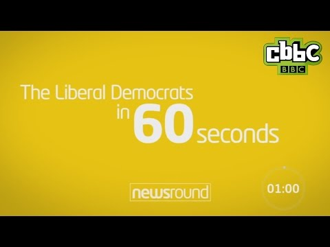 The Liberal Democrats in 60 seconds - CBBC Newsround