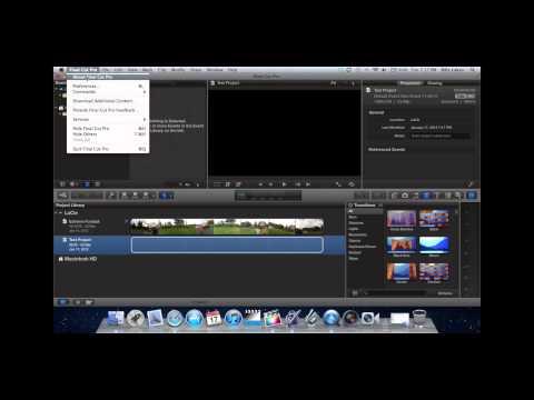 How to Set A Scratch Disk in Final Cut Pro X