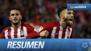 Resumen de Atlético de Madrid (2-1) Valencia CF