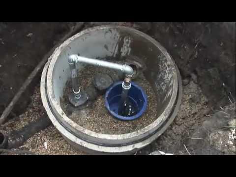 Sewer Backup Installation