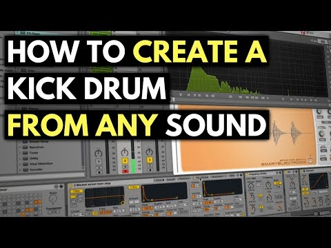 How To Create & Process A Kick Drum From Any Sound | Found Sound & Sampling