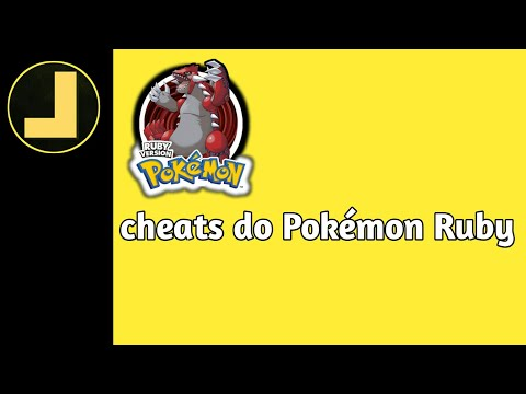 [Tutorial]Cheats de Pokémon Ruby °PtBr°