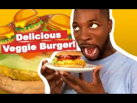 Cooking With A Comedian - How To Make A Veggie Burger (Black Bean) @PreacherLawson