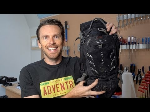 EVERYTHING I carry on a mountain bike ride -- 2018