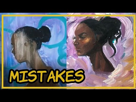 How to Deal With Mistakes | Oil Painting Timelapse || Sketchdump #5