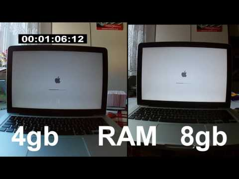 Macbook Pro 4gb vs 8gb RAM upgrade