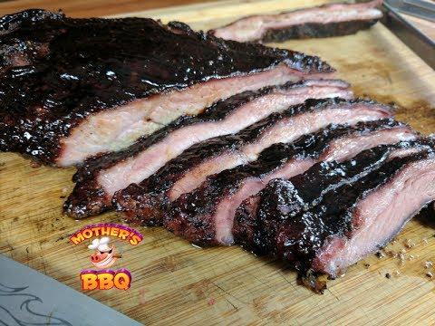 Pork Ribs Recipe | Asian Inspired Smoked Pork Ribs | Homemade BBQ Sauce
