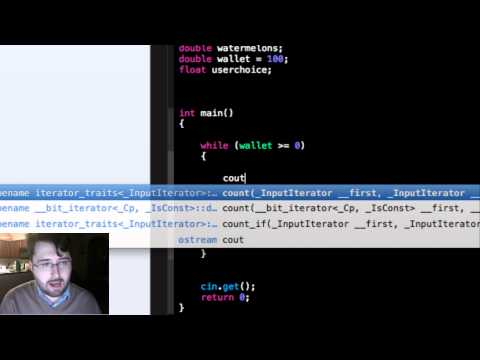 Intro to C++: How to make a basic shopping list program