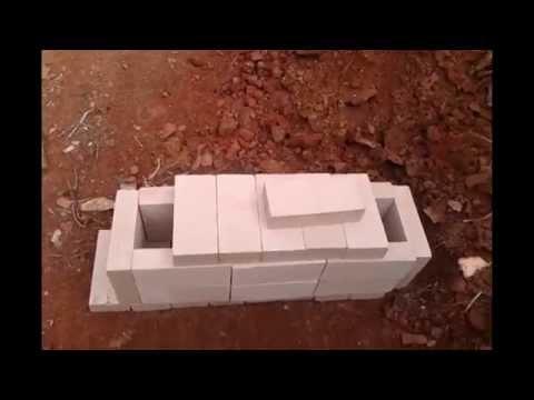 Rocket Mass Heater Build Part 1