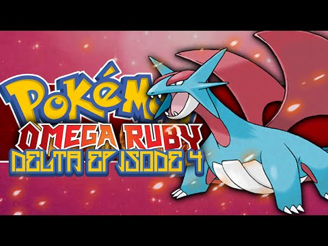 Pokémon Omega Ruby and Alpha Sapphire Delta Episode! #4 How To Get Salamence!