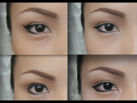 Changing Eye Shapes with an Eyeliner