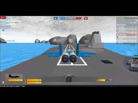 How to Fly Jets on roblox