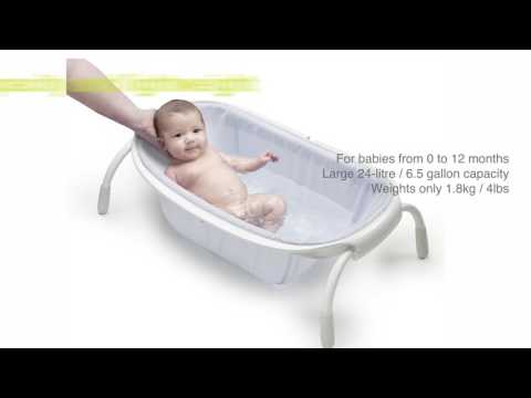 Ultra compact textile bath - BEABA