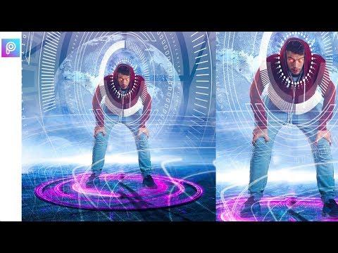 Futuristic Photo Editing in PicsArt _ Amazing Editing Tricks