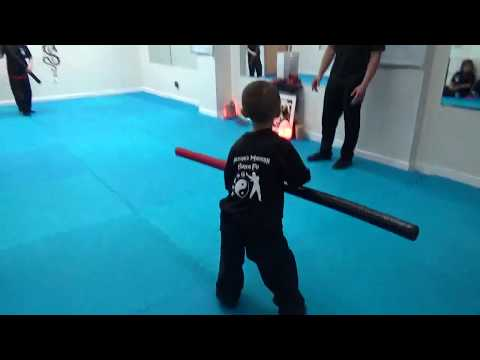 Kung Fu Kids - Bo Staff Sparring