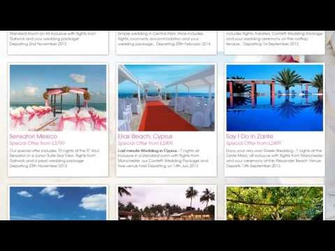 30th April 2013 Wedding Abroad Offers