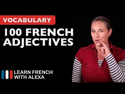 100 Useful French Adjectives
