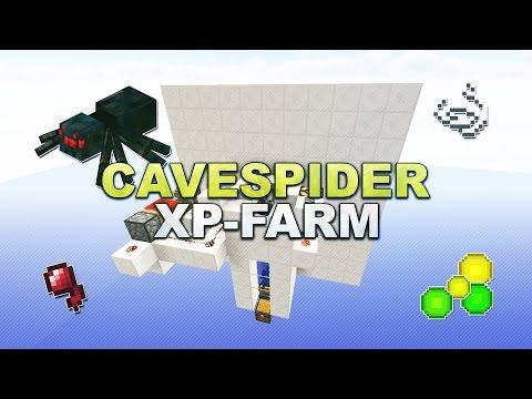 Minecraft - Cave Spider XP Farm // Spinnen Farm - Tutorial 1.8.9