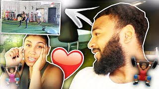 WE'RE TIRED OF BEING OUT OF SHAPE 😫❗️COUPLES WORKOUT VIDEO (MOTIVATION)