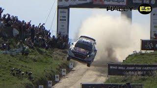 WRC Rally de Portugal 2017 #Flat Out-Jumps&Crash#