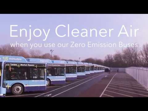 Electric Buses - Powering Nottingham's Clean Air Ambitions