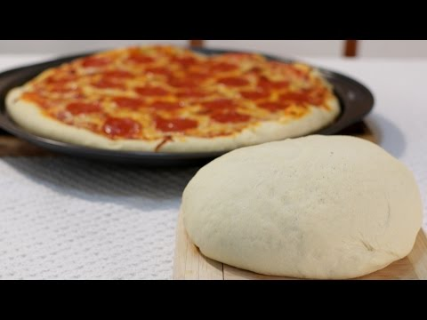 How to Make Pizza Dough - Easy Amazing Homemade Pizza Dough Recipe