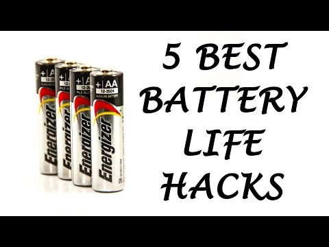 5 Best Battery Life Hacks