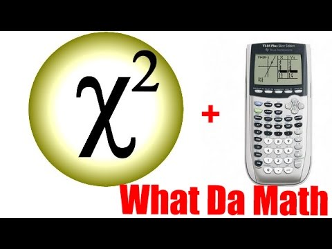 Ch. 11 - χ²  Chi Square - using graphing calculator (IB Math Studies)