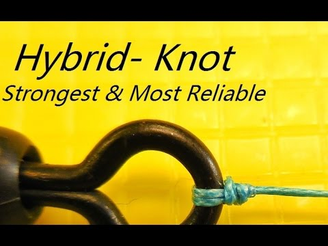 How to tie the strongest & most reliable fishing knot