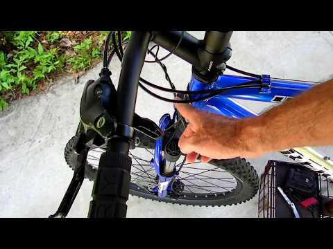 Mountain Bike Disc Brake Cable Adjustment