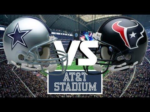 Dallas Cowboys vs Houston Texans, AT&T Stadium
