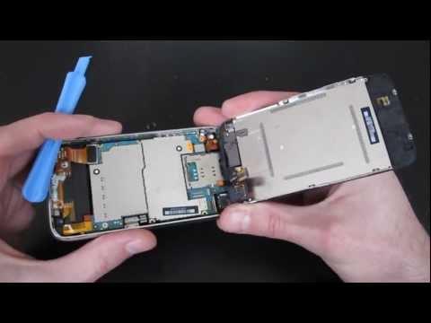 Vitre iphone 3gs 3g tactile remplacement avec un chassis complet
