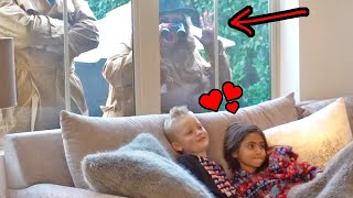 SPYING ON OUR DAUGHTER AND HER CRUSH!!! WE CAUGHT THEM!!