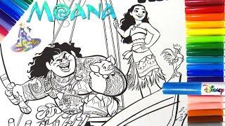Marcador o Rotulador Mágico de Moana y Maui Vaiana y Maui en Español de Magic Ink