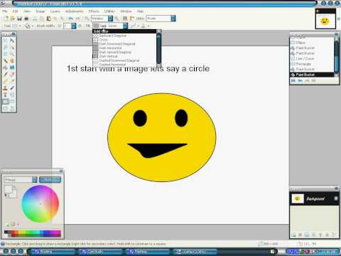 How to make things transparent on Paint.net