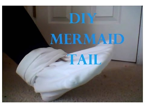 How to make a DIY SWIMMABLE Mermaid Tail!