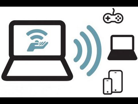 How to turn your Windows 7, 8, 8.1 Laptop into a WiFi Hotspot