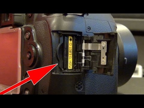 How to fix a broken SD Card Slot on a Camera (HD 720p)
