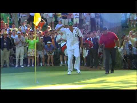 Tiger Woods • 2005 Masters • 16th Hole • Chip-In • Alternate Angle