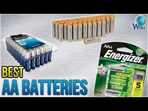 8 Best AA Batteries 2018